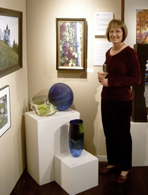 Susan at Lawrence Gallery